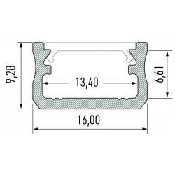 Profil aluminiowy typ A