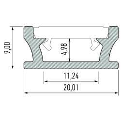Profil aluminiowy typ TERRA