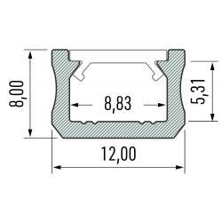 Profil aluminiowy typ X