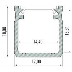 Profil aluminiowy typ Y