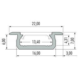 Profil aluminiowy typ Z