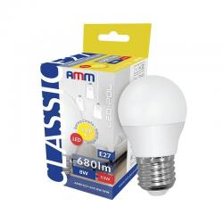 AMM  Żarówka LED E27 G45 8W...
