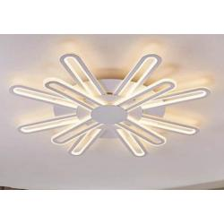 LAMPA SUFITOWA LED BIAŁA, 12 ELEMENTÓW , 3 KOLORY, PILOT,  97W/230VAC 50Hz