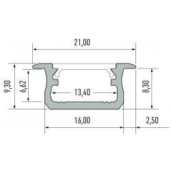 Profil aluminiowy typ B