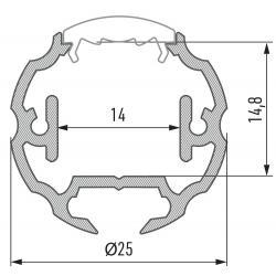 Profil aluminiowy typ COSMO