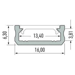 Profil aluminiowy typ D