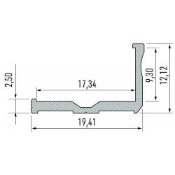 Profil aluminiowy typ E