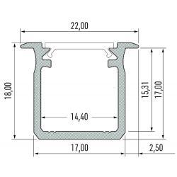 Profil aluminiowy typ G