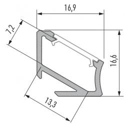 Profil aluminiowy typ H